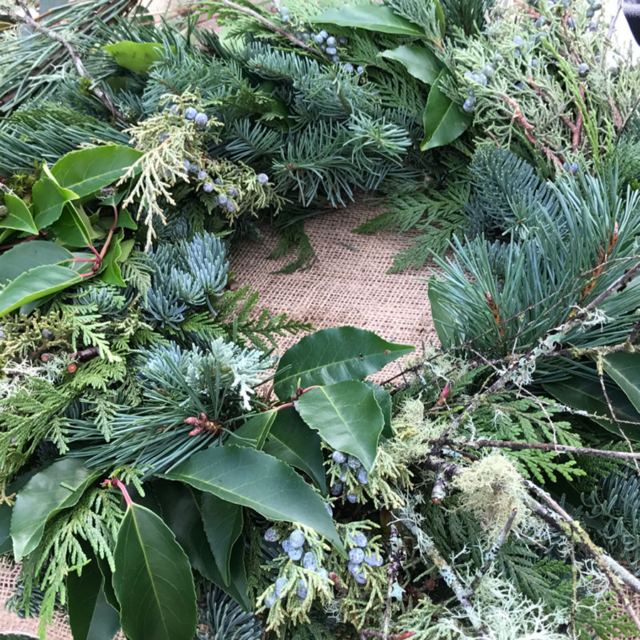 Wreath Making Work